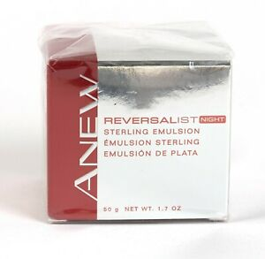 Avon Anew Reversalist Night Sterling Emulsion New & Sealed 1.7 oz