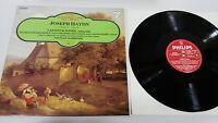 Joseph Haydn Las Jahreszeiten LP Vinyl VG + Spanisch Ed Philips