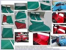 FIAT 600 D EPOCA COPRISEDILI SERIE COMPLETA VERDE 2.1 BORDINO FASC E LUNT BIANCO