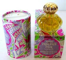 Avon PRECIOUS PAIR Topaze Cologne .5 fl oz & Perfumed Talc Powder 1.5oz  NOS NIB