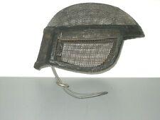 Vintage Metal Wire Fencing Mask Helmet