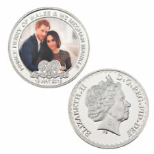 GREAT BRITAIN PRICE HARRY AND MEGHAN WEDDING CHALLENGE COIN QUEEN ELIZABETH