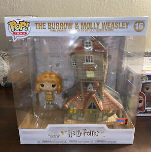 Funko Pop! Harry Potter The Burrow & Molly Weasley #16 NYCC 2020 Sticker IN HAND