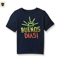 The Children's Place Baby Boys' Spanish Graphic T-Shirt, Tidal, 4T