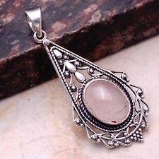 "Pendant Jewelry 2"" Ap 61777 Rose Quartz Ethnic Gift Handmade"