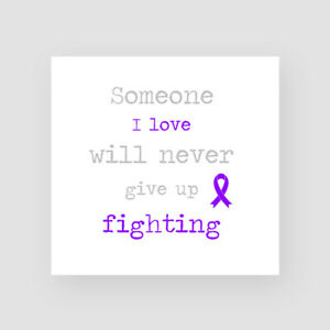 Pancreatic Cancer Support Card Get Well Soon Sympathy Thinking Of You Chemo