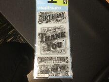 Inkadinkado Clear Stamp set of 3 EXPRESS YOURSELF