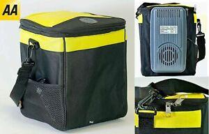 AA 12v Car Caravan Travel Camping Picnic 13L Portable Cooler Cool Box Drinks Bag