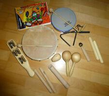 Voggy's Kinder-Percussion-Set aus Holz