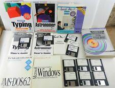 "Microsoft Windows TYPING Computer Programming WORD 3.5"" Floppy Disks LOT ~ T158"