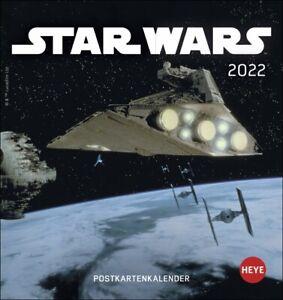 Star Wars Postkartenkalender  2022 Kalender
