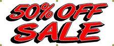 New 50 Off Sale Commercial Retail Banner 54 X 24 Vinyl Outdoor Indoor Sign