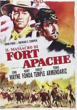 Dvd IL MASSACRO DI FORT APACHE - (1950) *** Jhon Wayne Henry Fonda *** ....NUOVO