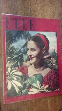 Elle n° 22   l'hebdomadaire de la femme 16 avril 1946