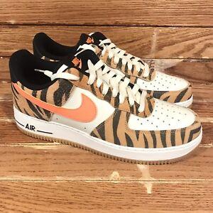 Nike Air Force 1 Low Premium 'Daktari Stripes' [DJ6192 100] Men's Size 9.5