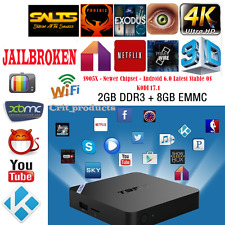 Android SMART STREAM Quad Core TV Box M8S Plus 4K Movies TV Media Player Mini PC