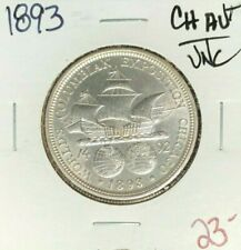 1893 Columbian Expo Commemorative Half Dollar ~ Ch/Au+/Unc ~Beautiful Coin~