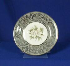Royal Cathay China Silver Gardenia Pattern White Saucer bfe1705