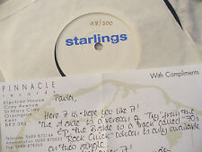 STARLINGS TRY / 70'S ROCK CHICK n/m with flyer 98/500 ltd edi.,.......... 45rpm