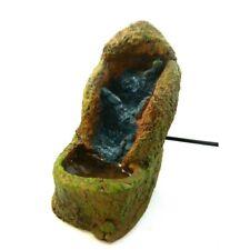 Cascata Cm 7,5x14x14 Completa di Pompa che Ricicla Acqua Ruscello Presepe Fiume