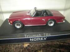 1:43 Norev Triumph TR6 Damson rot/red 1970 Nr. 350092 OVP