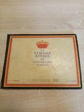 Livre Chromos chocolat Jacques la famille royale incomplet +/- 50%