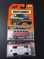 SET OF 2 MATCHBOX 1967 '67 VW TRANSPORTER VOLKSWAGEN BUS VAN #64 PACKAGE ERROR