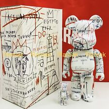 Medicom Be@rbrick 2018 Jean-Michel Basquiat 400% + 100% versione #2 BEARBRICK Set