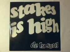 "DE LA SOUL Stakes is high 12"" UK 5 TRACKS COME NUOVO LIKE NEW!!!"