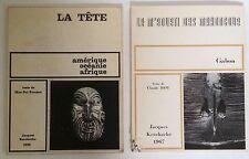 LA TETE AMERIQUE OCEANIE AFRIQUE 1966+Le M'Boueti des Mahongoue Gabon, Roy, 1967