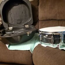Ludwig metal flake Black Galaxy Acrolite 14x5� Snare Drum resonate snare set.