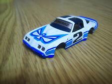 Afx Nos Firebird body New Unused White/Blue #2 Model Motoring Aurora Ho~Buy New!