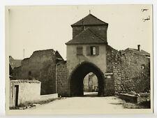 Dambach-la-ville : Porte de la Blienschwiller c. 1935 - Photo vintage