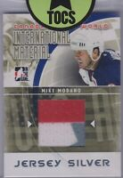 Mike Modano 2011 ITG International Material Black Jersey Card USA SP 3 Color