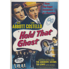 ABBOTT AND COSTELLO = HOLD THAT GHOST = DVD = (MOD) Free Au Post  =