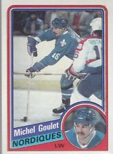 1984-85 TOPPS HOCKEY MICHEL GOULET #129 NORDIQUES MINT *54643
