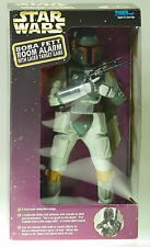 "New MIB STAR WARS 12"" INCH Boba Fett Electronic Room Alarm w/ Laser Target Game"