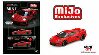 MINI GT MGT00150 2020 CHEVROLET CORVETTE STINGRAY C8 DIECAST TORCH RED 1/64