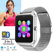 Women Men Android Smart Watch Camera Fitness Tracker for Samsung Google iphone