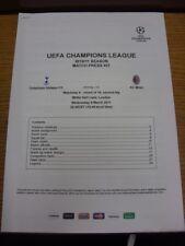 09/03/2011 Tottenham Hotspur v AC MILAN [UEFA CHAMPIONS LEAGUE] - corrispondono a premere Ki