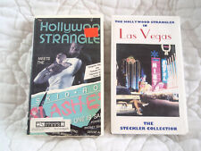 HOLLYWOOD STRANGLER IN LAS VEGAS & MEETS THE SKID ROW SLASHER VHS SERIAL KILLER