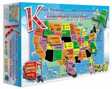 A Broader View 55 Pieces Kids' Puzzle of the United States USA Puzzle  BRAND NEW