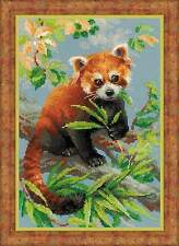 "Counted Cross Stitch Kit RIOLIS 1627 - ""Red Panda"""