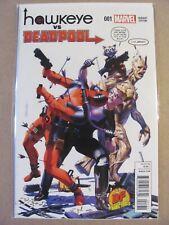 Hawkeye vs Deadpool #1 Marvel 2014 Dynamic Forces Exclusive Variant COA 9.6 NM+