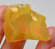 44.6Ct Ethiopian Crystal Black Opal Rough Clarity Enhanced YSJ3711
