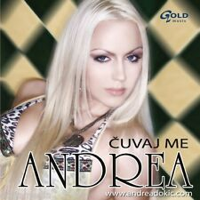 Andrea Dokic CD Cuvaj me Balkanac Crno i Belo Srbija Bosna Hrvatska Best Hit Zid