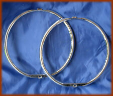 ALFA ROMEO ALFETTA 1,6 FIRST SERIES - Pair chrome lenses light frames