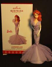 Hallmark - Barbie - Collector club Exclusive - Lavender Luxe  - 2017