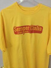 Semper Cialis Always Hard mens funny t-shirts