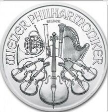 Moneda de Plata Filarmónica de Austria 2015 1 oz con cápsula.